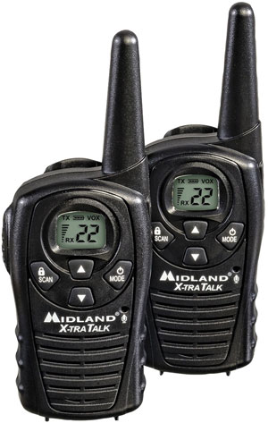 Midland 36 Mile 50Ch Siren, Headsets GXT1050VP4