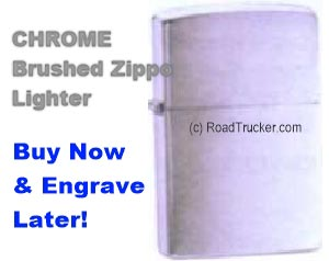 Brushed Chrome Lighter 200