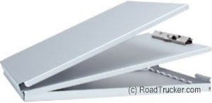 RoadPro - Large Aluminum Forms Holder Clipboard