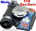 Model 419 Dual Tone Air Horn 118 Decibels BADBOY419