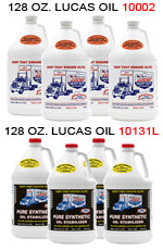 128oz. Pure Synthetic & Heavy Duty Oil Stabilizer