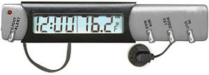 RoadPro Electronic Big Digit Clock with Calendar 1324