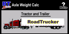 RT Axle Weight Calculator