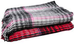 "59""x78"" Medium Tilma Plaid Blanket Assortment"