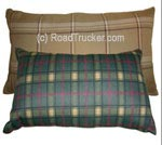 "14"" x 24"" Flannel Travel Pillow - Assorted Colors Min=3"
