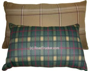 "14"" x 24"" Flannel Travel Pillow - Assorted Colors"