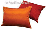 "14"" x 19"" Satin Covered Polyester Filled Travel Pillows Min=24"
