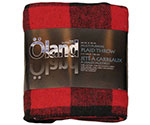 "85"" x 62"" Travel Blanket, Assorted Colors"