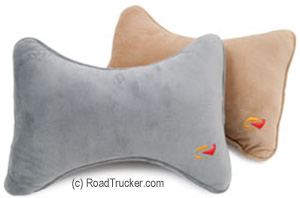 RoadPro - Headrest Pillow w/ Microfiber Cover, Assorted Colors - RP2806