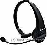 Cellular Headset Bluetooth with RX Silencer & Recorder