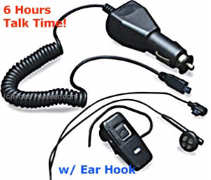 MobileSpec - Bluetooth v2.0 In-the-Ear Headset with Ear Hook & Push to Talk Button - MSCBTOEMS