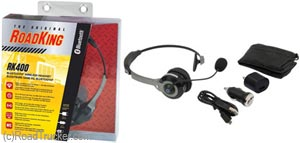 Wireless Noise Canceling Headset w/Bluetooth & Dual Mic