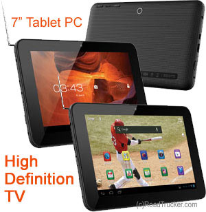 "RCA 7"" Tablet PC w/High Definition TV"