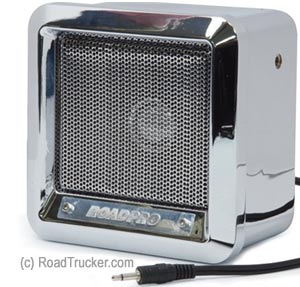 "RoadPro - 5"" Professional Heavy Duty CB Extension Speaker, Chrome Finish"