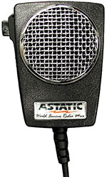 Astatic - Amplified Ceramic Power 4-Pin CB Microphone