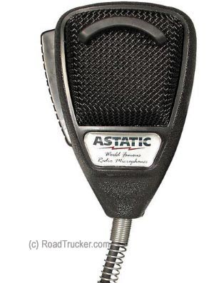 Astatic - 636L Noise Canceling CB Microphone - Black - 302-636L