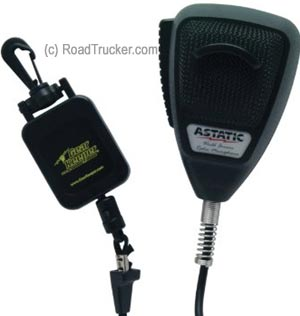 Astatic - Noise Canceling 4-Pin CB Microphone with GearKeeper™ - 302-10162