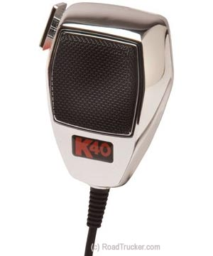 Noise Cancelling Chrome Edition CB Mic K40MICCH