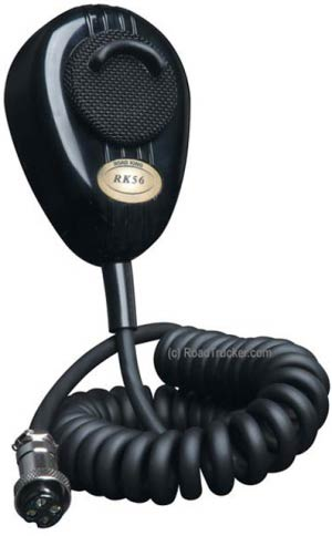 RoadKing - 4-Pin Dynamic Noise Canceling CB Microphone - Black Boxed - RK56B