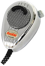 RoadKing - Chrome 4-Pin Dynamic Noise Canceling CB Microphone