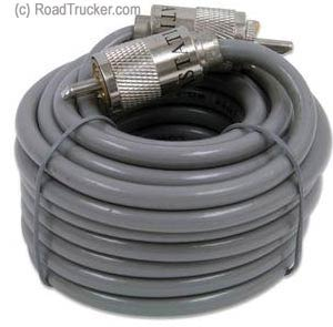 18′ Coaxial Cable with PL259 Connector