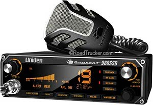 Bearcat CB Radio w/ SSB & 7 Color Display BEARCAT980