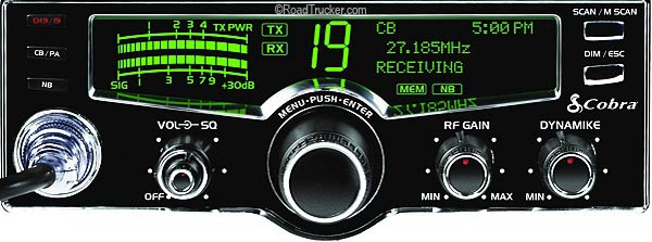 40 Channel Cb Frequency Chart : Cobra cb radio w lcd display selectable colors lx