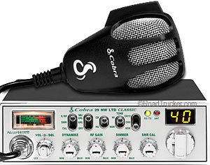 Classic 40 Channel CB Radio NightWatch 29NWLTD
