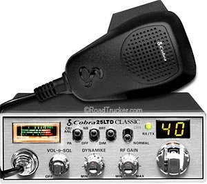 25LTD Classic 40 Channel Mobile CB Radio 25LTDCLASSIC