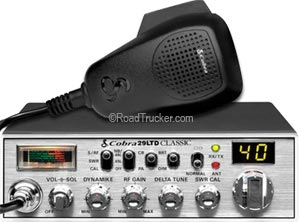 40 Channel Mobile CB Radio, Delta Tune 29LTDCLASSIC