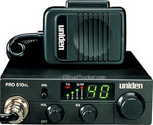 Compact Mobile 40 Channel CB Radio PRO-510XL