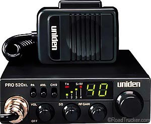 40 Channel Compact Professional CB Radio PRO-520XL