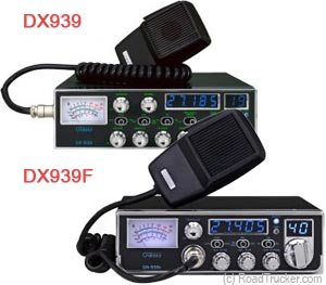 Galaxy CB Radio with 5-Digit Frequency Display DX939