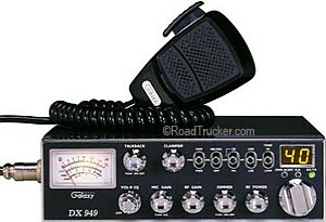 Galaxy CB Radio AM, SSB and PA Modes DX949