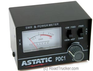 Astatic - PDC1 SWR/ RF Test Meter