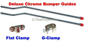 Deluxe Chrome Bumper Guides