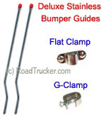 Deluxe Stainless Steel Bumper Guides