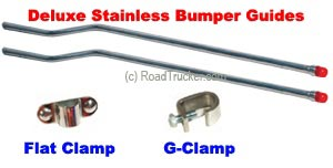 Deluxe Stainless Bumper Guides