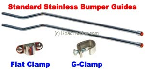 Standard Stainless Bumper Guides