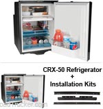 1.7 Cu Ft Refrigerator CRX-50 & Installation Kits