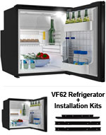 Vitrifrigo & Dometic Portable AC/DC Fridge Freezer at RoadTrucker com