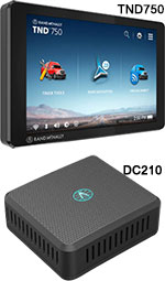 Rand McNally ELD Special: 1 TND740 GPS and 1 DC200S