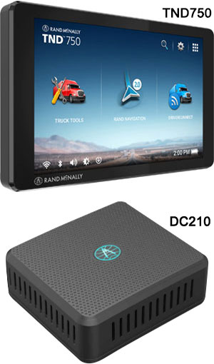 Rand Mcnally Gps >> Rand Mcnally Eld Special 1 Tnd740 Gps And 1 Dc200s