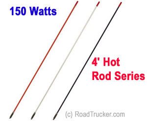 Francis 4′ Hot Rod CB Antenna