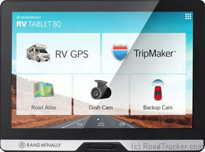 "Rand McNally 8"" Advanced RV GPS Android Tablet"