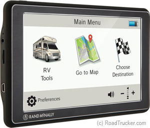 "7730 Rand McNally 7"" GPS for RVs RVND7730"