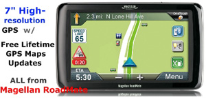 Magellan RC9270T-LM GPS for Truck | Lifetime Maps