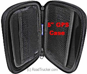 "Rand McNally Zippered Hard Case for 5"" GPS - 528002775"