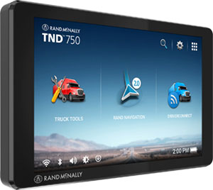 "Rand McNally TND740 ELD Compatible 7"" Trucker GPS"