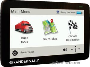 Rand McNally IntelliRoute® TND™ 730 Trucker GPS with Truck Routing